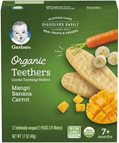 Baby & Toddler Snacks: Gerber Organic Teethers