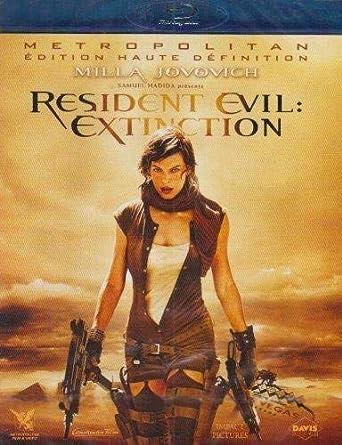 Resident Evil : Extinction [Francia] [Blu-ray]: Amazon.es: Milla Jovovich, Oded Fehr, Ali Larter, Iain Glen, Ashanti, Mike Epps, Christopher Egan, Spencer Locke, Jason OMara, Russell Mulcahy, Milla Jovovich, Oded Fehr: Cine y