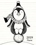 2019 Planner: A Year - 365 Daily - 52 Week-Daily Weekly Monthly Planner Calendar, Journal Planner and Notebook, Agenda Schedule Organizer, Appointment ... Penguin (January 2019 to December 2019)
