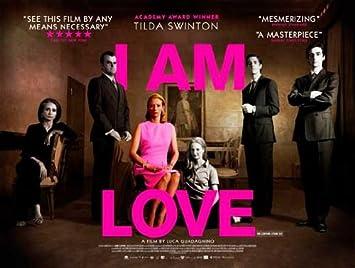 238719 I AM LOVE Movie TILDA SWINTON WALL PRINT POSTER UK