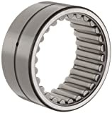 "Koyo HJ-122012 Needle Roller Bearing, Heavy Duty, HJ Type, Open, Oil Hole, Steel Cage, Inch, 3/4"" ID, 1-1/4"" OD, 3/4"" Width, 25000rpm Maximum Rotational Speed, 5240lbf Static Load Capacity, 4650lbf Dynamic Load Capacity"