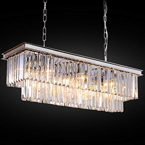 Modern Crystal Pendant Lamp - Meelighting L39.4