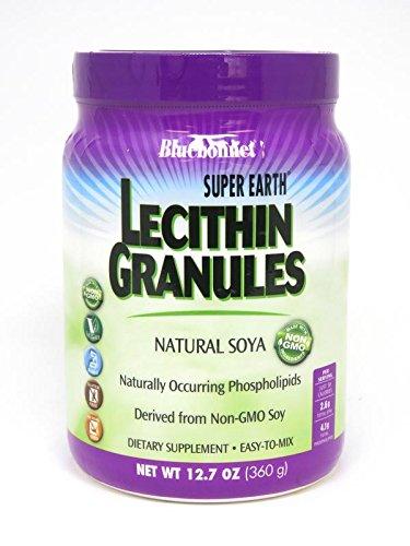 Lecithin 95 Granules - BlueBonnet Lecithin Granules Non-go Granules, 1 Pound