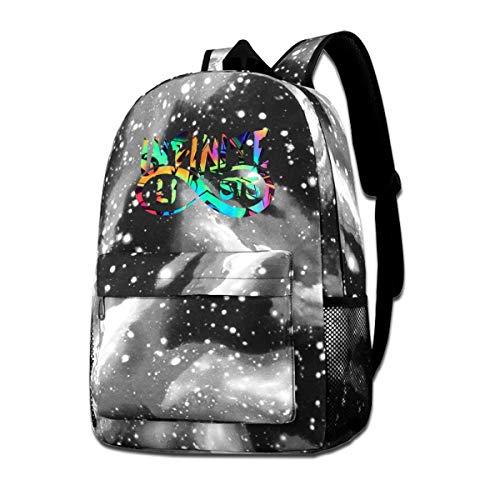 Signature Drawstring Handbag - Kids Galaxy In_f1n1_te_Style School Bag Shoulder Bag Rucksack Waterproof School Backpack Daypacks For Boys Girls
