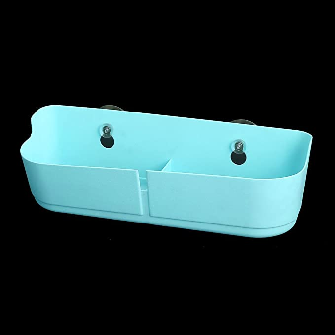 Amazon.com: eDealMax plástico Sala Baño Copa de succión del lechón colgar de la pared de la suspensión de Zapatos Zapatillas estante del organizador del ...