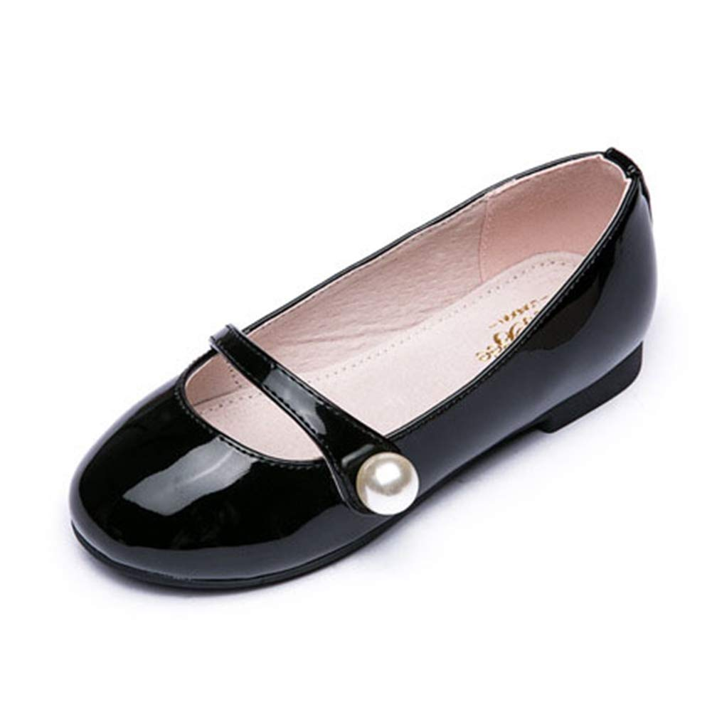 Toddler//Little Kid F-OXMY Girls Cute Shiny Mary Jane Flats Ballet Ballerina Shoes Princess Dress Shoes