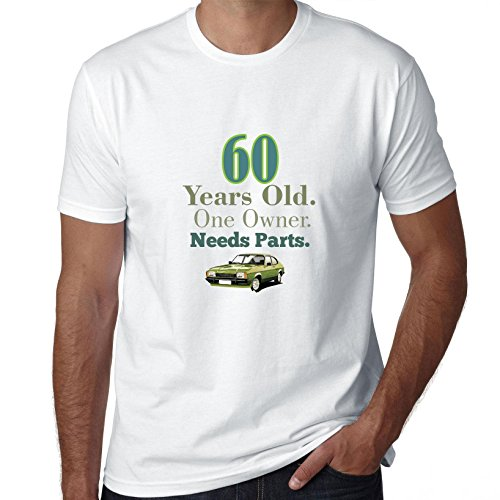 60 Years Old. One Owner. Needs Parts. Birthday - Men's T-Shirt -