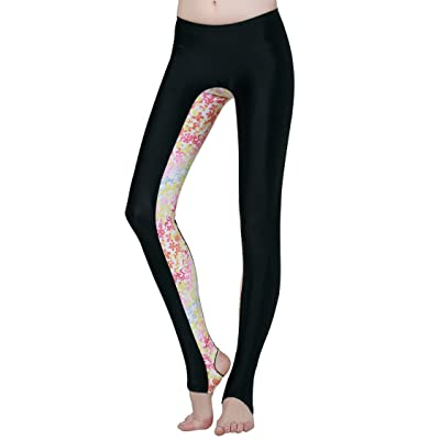 2015 Printed long swimming diving pants UPF50+ for women