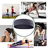 Yoga, Sport, Cooling Headbands That Can Absorb Sweat And Which Has A Very High Elasticity, Useful for Fitness, Gym, Great For Women And Men (Grey)