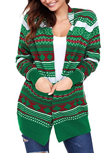 Womens Christmas Cardigans Sweater