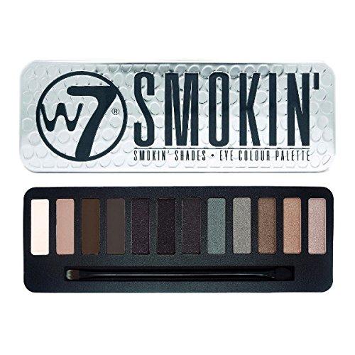 Smoky Eye Palette (W7 Eye Shadow Colour Palette 15.6g (Smokin'))