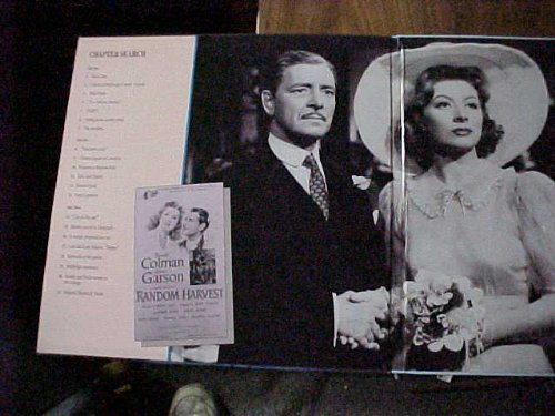 Laserdisc (Laser Disc) of RANDOM HARVEST From the Novel By James Hilton. Staring Ronald Colman, Greer Garson, Philip Dorn, Susan Peters, Henry Travers and Reginal Owen.