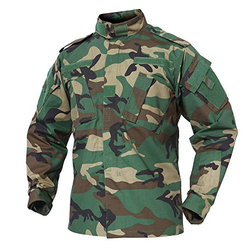 Militar Selva Uniforme Camo Camisa Hombres Ejército TACVASEN 7nOXwdY7
