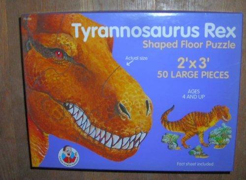 Tyrannosaurus Rex Shaped Floor Puzzle