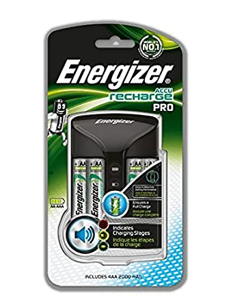 Energizer Recharge Pro Charger For Nimh Rechargeable Aa Amazon