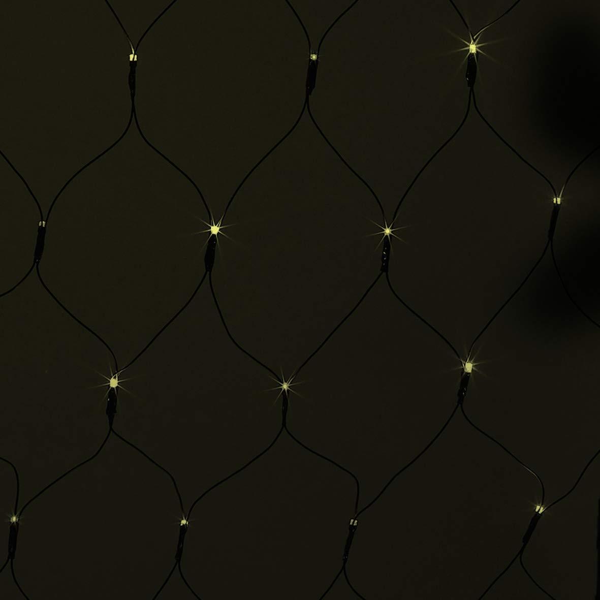 The Christmas Workshop 150 LED Net Chaser Lights Bright White