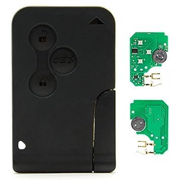 DON LLAVE® AMDLRER04NOX011 - Tarjeta completa de 3 botones con electrónica de 433Mhz y transponder PCF7947 (Modelos en el interior)