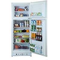 Smad Compact All Refrigerator Top Freezer Refrigerator Double Door, 6.1 Cu.ft, White