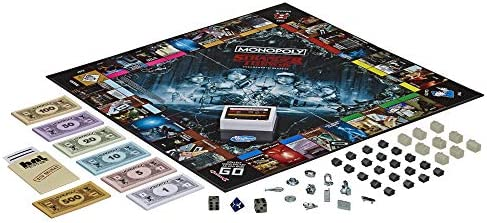 Monopoly Game Stranger Things Collectors Edition Board Game for Ages 14 & Up: Amazon.es: Juguetes y juegos