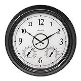 Cheap AcuRite LED Illuminated Outdoor Clock, 18″, Black