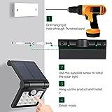 ECEEN Solar Light Outdoor Motion Sensor Foldable