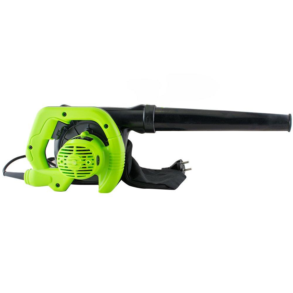 Genmine Handheld Leaf Blower with Vacuum Shredder RC1007 110V Electric Super Leaf Blower With Bag