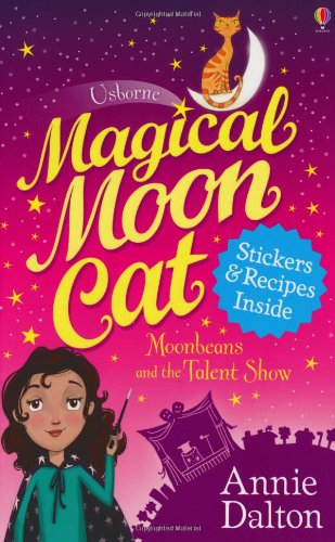 book cover of Moonbeans and the Talent Show