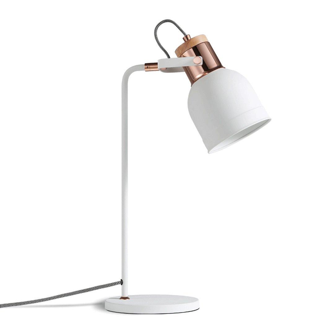 DGF Iron Art Table Lamp- Modern Study Office Learn Write Eye Reading Light (H510mm)