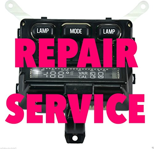 Ford F150 F250 F350 Compass Temperature Overhead Console Display Repair Service - F350 Overhead Console