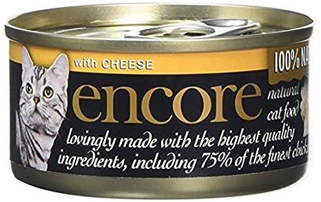 Encore - Lata para gatos y queso (70 g, 16 unidades)