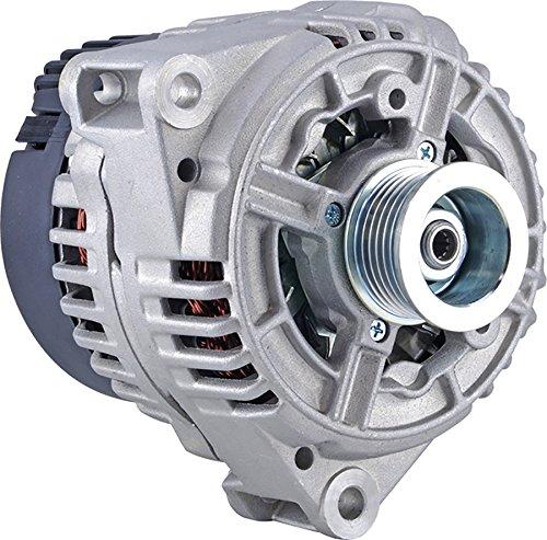 DB Electrical New 400-24278 Alternator for 4.3L 08 Clock 150 Amp Internal Fan Type Solid Pulley Type Internal Regulator CW Rotation 12V Mercedes-Benz S430 2000 2001 AL0768X, 123520017, 13855 (S430 Alternator)
