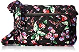 Vera Bradley Iconic Rfid Little Hipster-Signature, Winter Berry