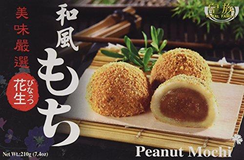 Japanese Rice Cake Mochi Daifuku (Peanut), 7.4 oz