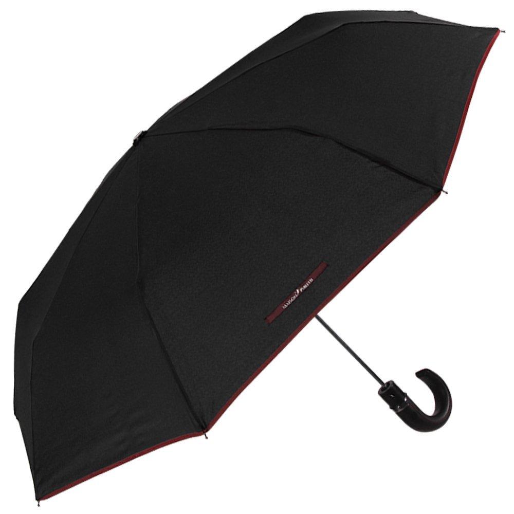 Paraguas Perletti, mini, con apertura automática, antiviento, plegable - resistente y compacto, con estructura flexible - Paraguas para hombre - 16213: ...