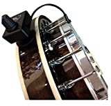 BANJOLELE PICKUP with FLEXIBLE MICRO-GOOSE NECK by Myers Pickups ~ See it in ACTION! Copy and paste: myerspickups.com