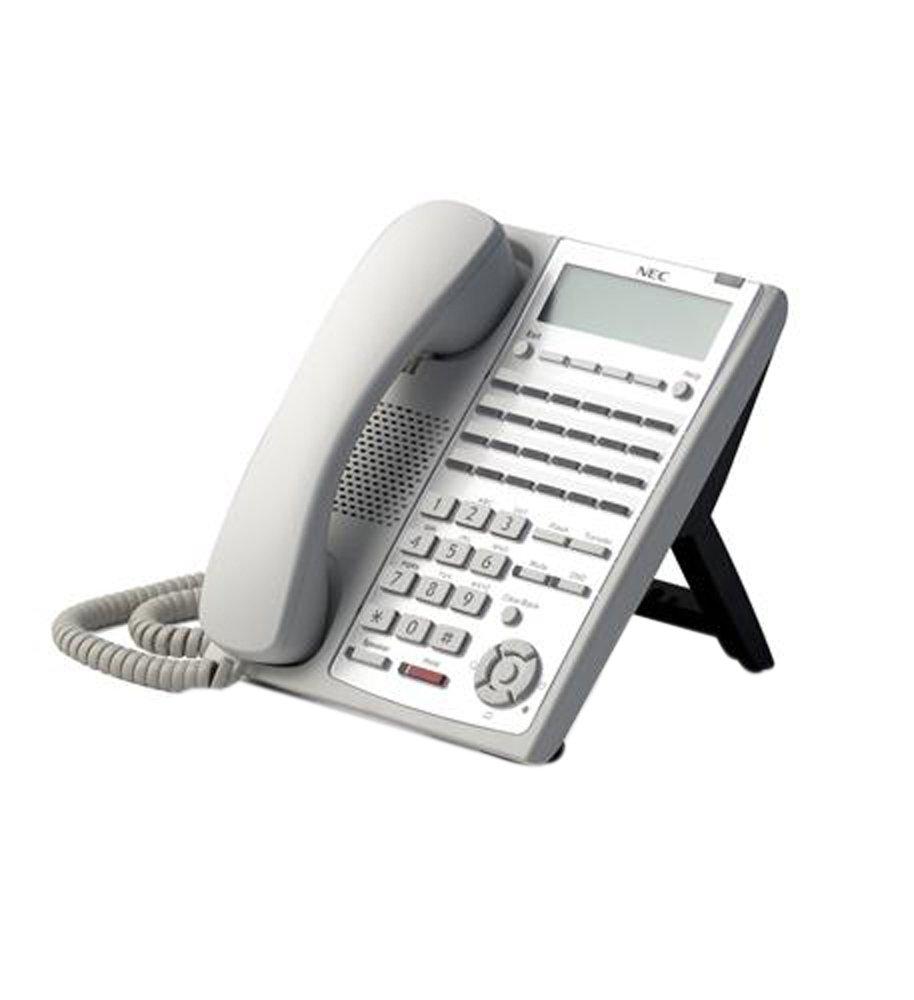 NEC SL1100 SL1100 24-Button Full-Duplex Tel (WH)