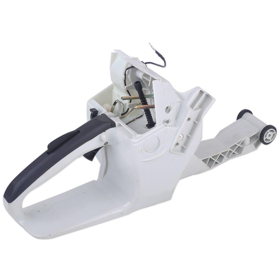 Gas Treibstofftank Heckgriff passend f/ür Stihl 038 038AV 038 Magnum MS380 1119 350 0852 Kettens/äge