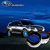 ffomo Bearfire 4Pcs Waterproof LED Light Wheel Hub Center Caps Cover (for Subaru)
