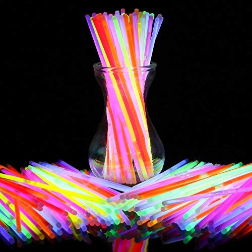 BOBOO Glow Sticks 100 Pcs 8