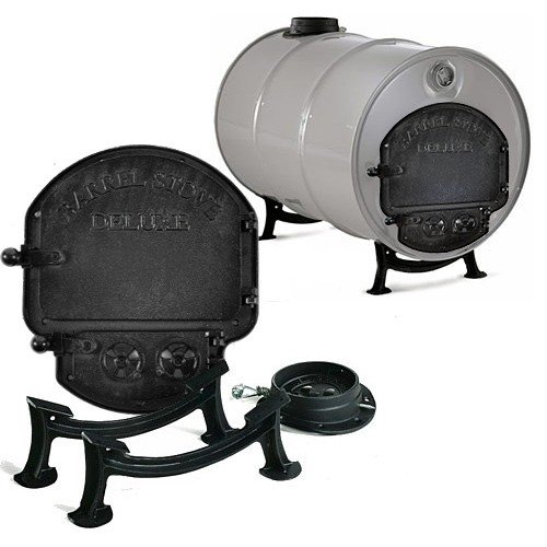 Vogelzang Deluxe Barrel Stove Kit
