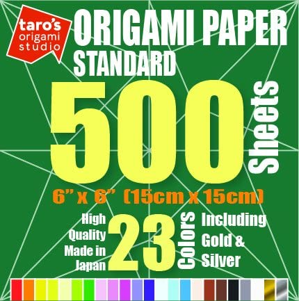 500 Sheets Origami Paper