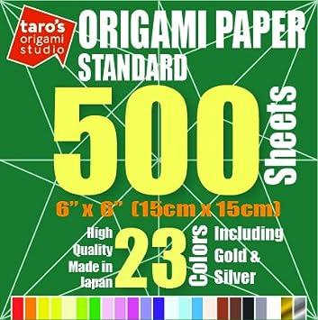 Amazon.com: Taros Origami Studio Premium papel japonés de ...