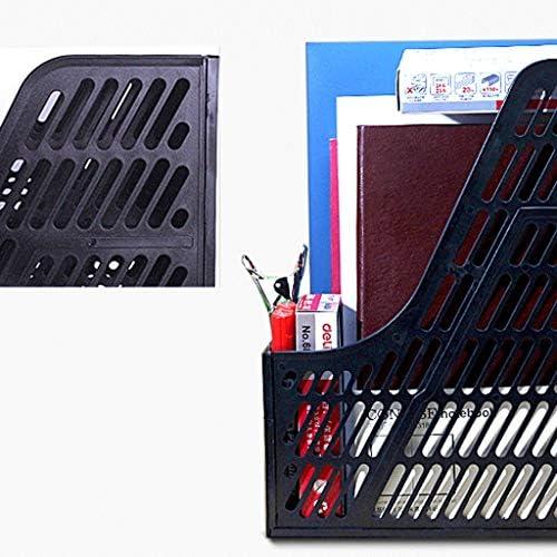 YKW Ordner Ordner Multi Layer-Datei Regal-Speicher Box-Datei im Feld Speicher Bürobedarf Ordner Büro-Schreibtisch-Dateiordner (Color : Gray)
