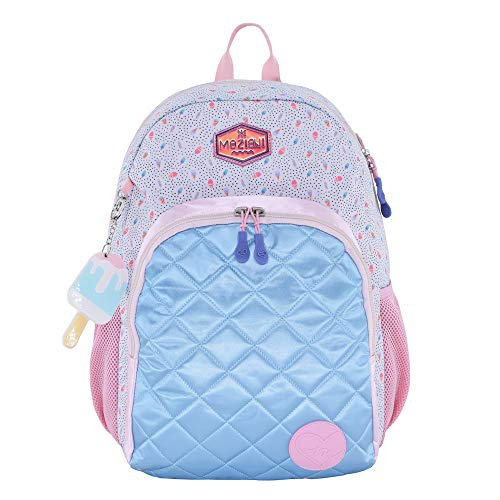 - MOZIONI School Backpack, 90'S Cream Collection, Limited Edition.