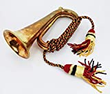 AnNafi Solid Brass And Copper Blowing Bugle| US