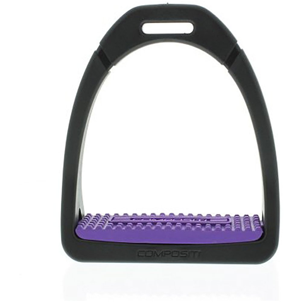 Compositi Premium Profile Stirrup Irons Adults Purple