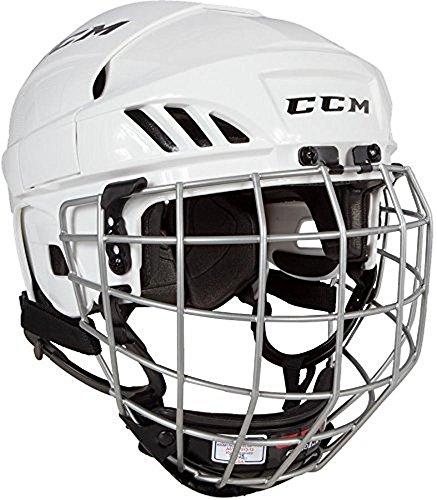 CCM FL40 Helmet Combo (Ccm Helmet Ice Hockey)