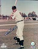Ralph Kiner Signed Photograph - 8X10 Posing Bat COA - PSA/DNA Certified - Autographed MLB Photos