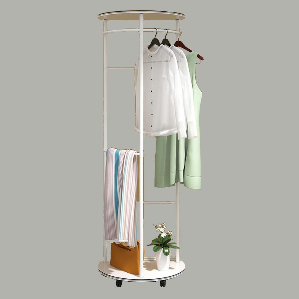 YAOHM Einfache Einfache Einfache Art Und Weise Kreative Bodenaufhänger-Fußboden-Mantel-Gestell-Boden-Kleiderständer-Schlafzimmer-Aufhänger Multifunktions-Lagerregal,Weiß,1 b6232d