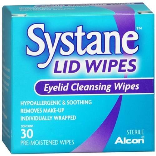 Systane Lid Wipes, Eyelid Cleansing Wipes 30 ea